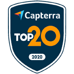 Capterra Top 20 for Nonprofit Nov-20