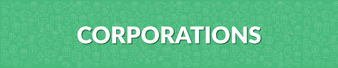 Corporations can benefit your nonprofit with donations.