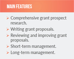 Learn about the comprehensive consulting services that Grants Plus offers.