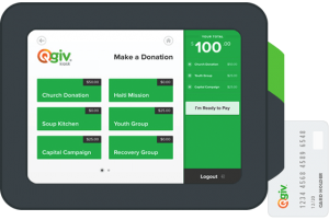 Raise more money at events with Qgiv's kiosk