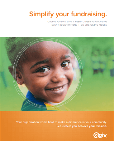Simplify Your Fundraising Handout