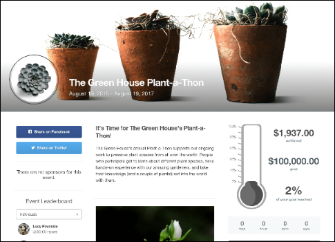 Check out this peer-to-peer fundraising software in action.