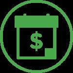 Time-based peer-to-peer fundraising