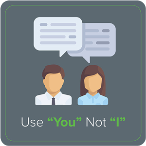"""Use """"You"""" Not """"I"""""""