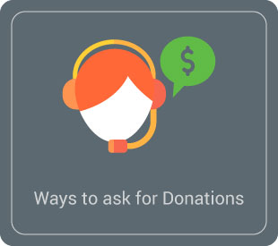 Learn how to ask for donations over the phone.