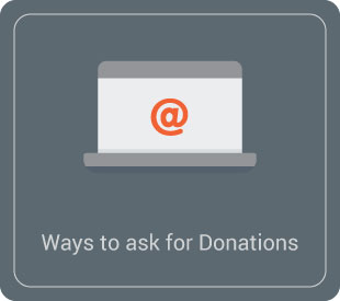 Learn how to ask for donations in your emails.
