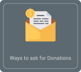 Learn how to ask for donations with letters.