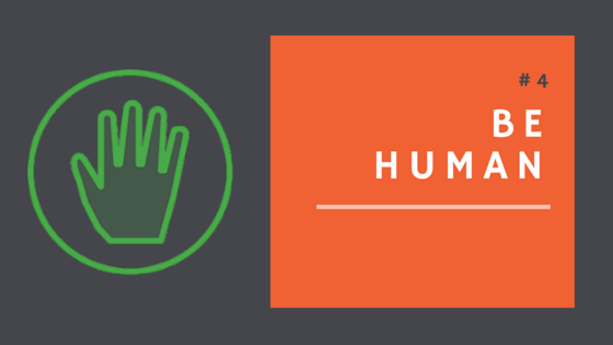 Be human during your donation campaign