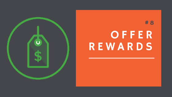 Offer rewards to your donation campaign's donors