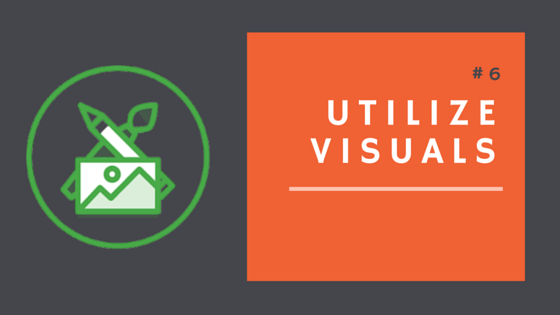Utilize visuals during your annual campaign