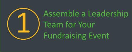 Assemble a leadership team for your walkathon or bikeathon.