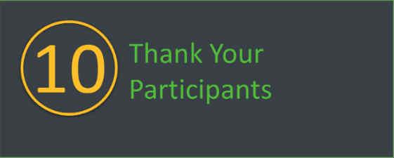 Thank your walkathon and bikeathon participants.
