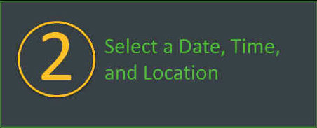 Select a date, time, and location for your walkathon or bikeathon.