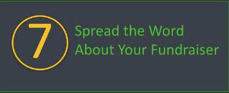 Spread the word about you walkathon or bikeathon.