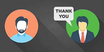 The second step to donor stewardship is thanking a donor.