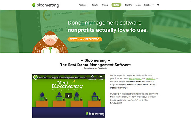 Check out Bloomrerang's donor management software and how it can work with your peer-to-peer fundraising platform.