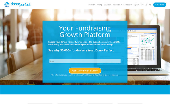 Learn more about DonorPerfect and how it can work with your peer-to-peer fundraising platform.