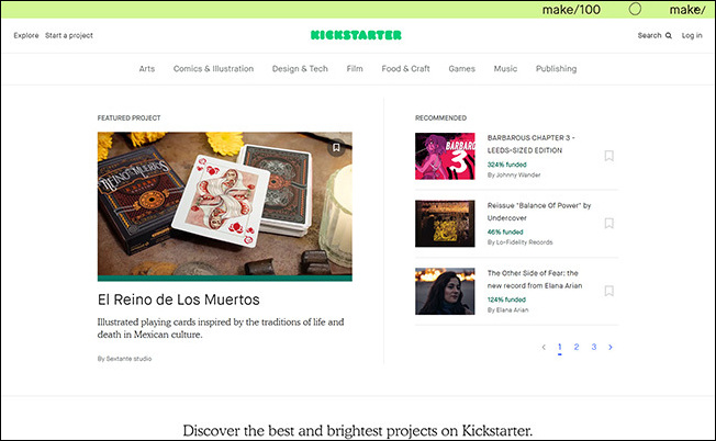 Check out if Kickstarter can supplement your peer-to-peer fundraising platform.