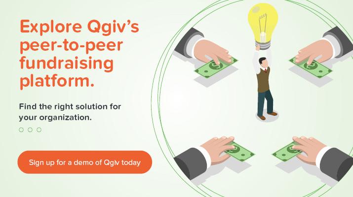 Explore Qgiv's peer-to-peer fundraising platform.