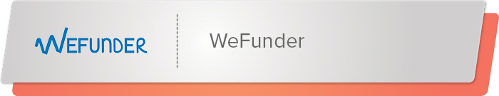 WeFunder is an equity crowdfunding platform to supplement your peer-to-peer fundraising platform.