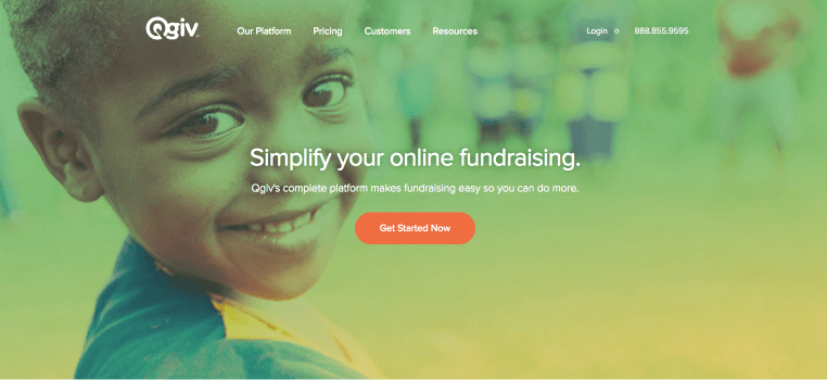 Qgiv is one of the best peer-to-peer fundraising platforms for your nonprofit.