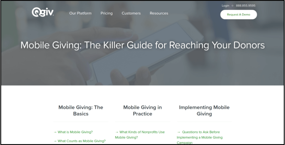 Learn more about text-to-tithe tools for your church fundraising.