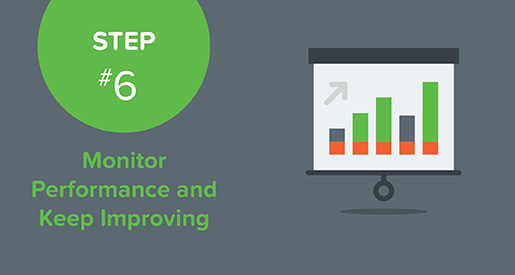The final step in preparing your text giving campaign is to monitor your performance and keep improving.