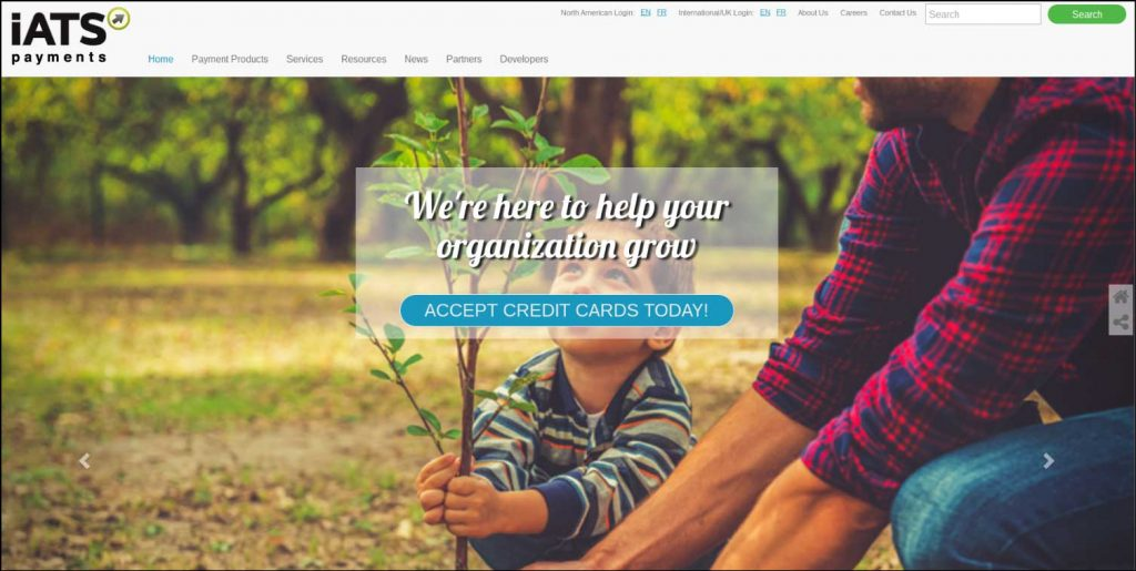 Accept online donations with iATS Payments