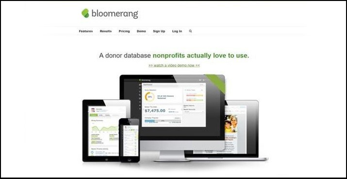 The Bloomerang suite of CRM and fundraising features make it a top online donation tool.