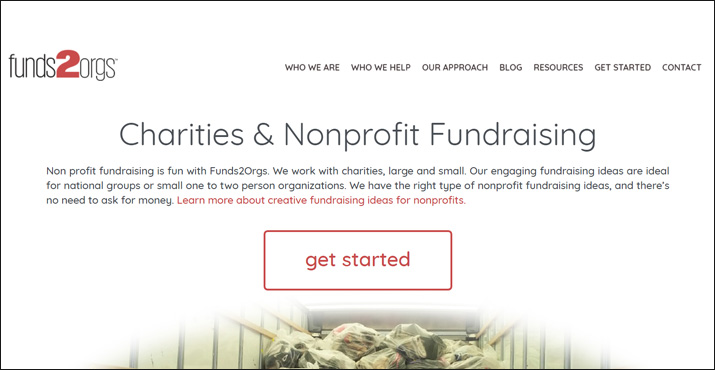 Funds2Orgs is an online donation tool that allows you to help your nonprofit as well as people in other countries.