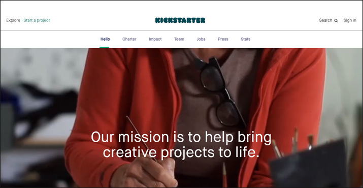 Kickstarter is a powerful online donation tool for crowdfunding.