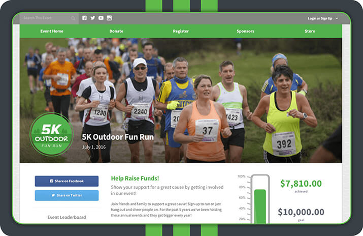 Take a look at Qgiv's powerful fundraising software solution.