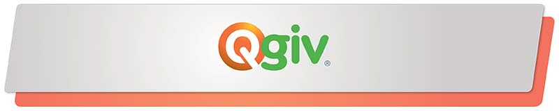 Qgiv has a great fundraising software solution for your nonprofit's needs!