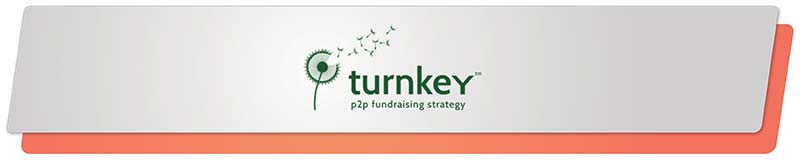 Turnkey's fundraising software uses data analytics to create powerful peer-to-peer fundraising strategies.
