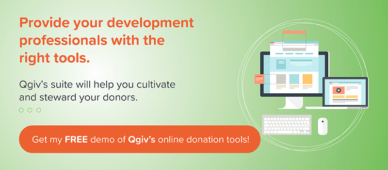 Qgiv Online Donation Tools