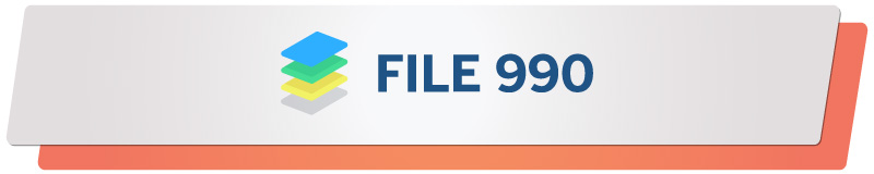 File 990 is a great additional software solution to your nonprofit fundraising software arsenal.