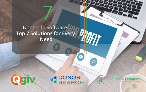 Nonprofit Software: The Top 7 Solutions for Every Need