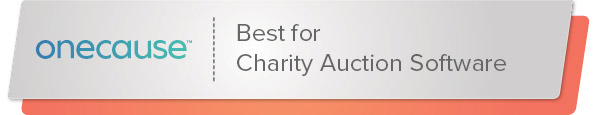 OneCause's nonprofit software is the best solution for charity auctions.