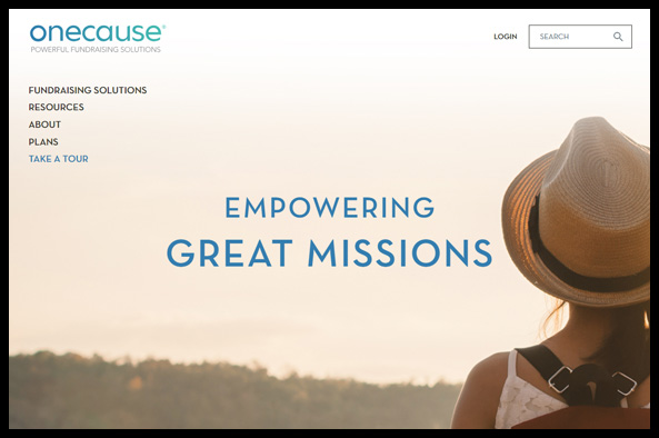 Take a look at OneCause's nonprofit software that's perfect for charity auctions.