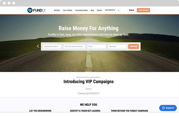 Fundly's event fundraising software can help you host a successful event.