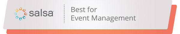 Salsa's event fundraising software can help you host your best nonprofit event yet.
