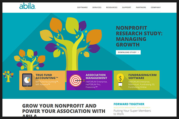 Check out Abila's nonprofit software.