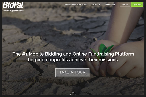 Take a look at BidPal's nonprofit software that's perfect for charity auctions.