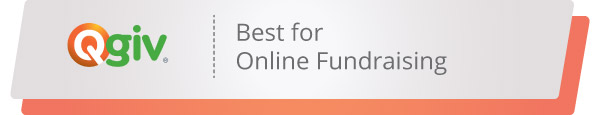 Take a look at Qgiv's nonprofit software that's best for online fundraising.