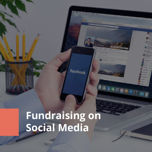 Connecting with supporters on social media is another key donor retention strategy for annual fundraising.