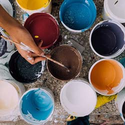 Invite supporters to a paint and pour event as one of your next fundraising ideas.