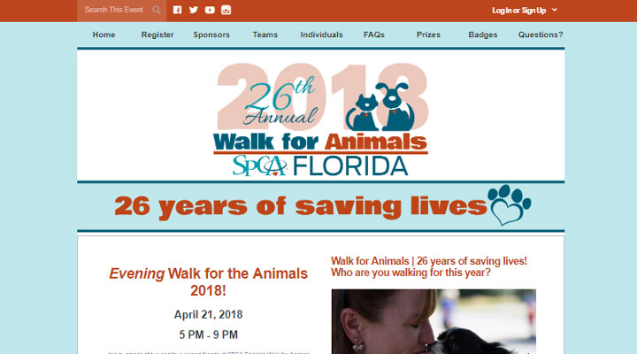 See how the SPCA of Florida leveraged Qgiv's peer-to-peer fundraising platform as an effective fundraising idea.