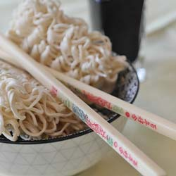 Another delicious fundraising idea is holding a ramen cook off.