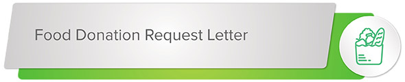 Secure a food donation sponsor with this letter sample.