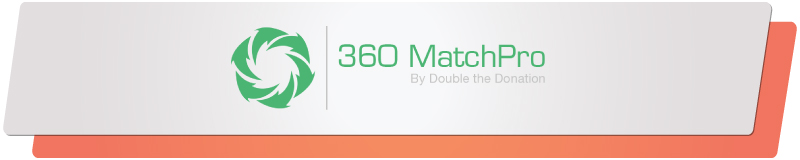 360MatchPro is a top donation tool for maximizing matching gifts efforts.